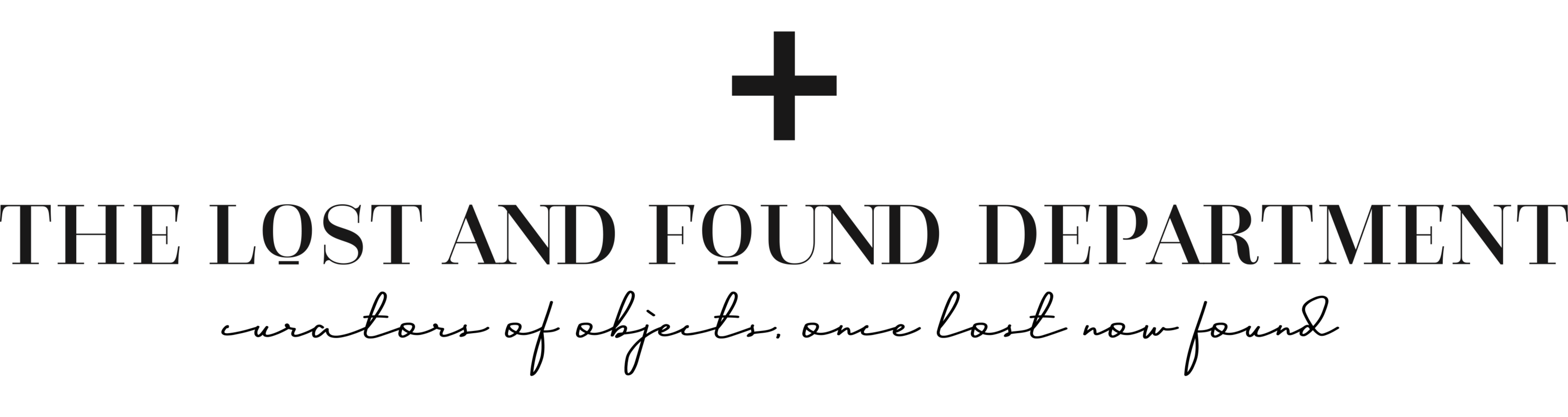 The Lost + Found Department
