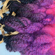 LAST CHANCE! City Afro 36'' Pink and Purple Ombre - 11 Bundles