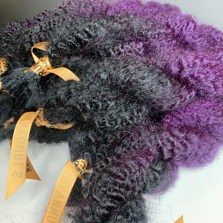 "LAST CHANCE! City Afro 36"" Dark Purple - 9 Bundles"