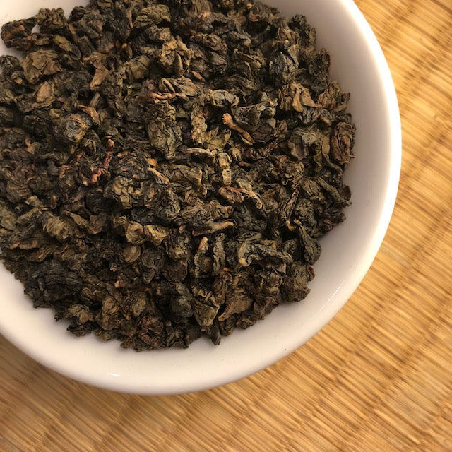 Oolong Tea: Amber Jade (Four Seasons medium roast)
