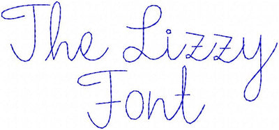 THE LIZZY  SKETCH FONT