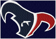 Houston Texans Cry - machine Embroidery Design - Comes in 5 sizes