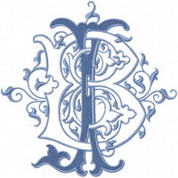 VINTAGE CUSTOM MONOGRAM BJ JB