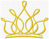 Crown - Princess - Machine Embroidery Design