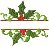 Split Holly Name Frame instant download comes in 3 sizes