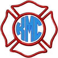 Fireman Shield - comes in 3 sizes 8x8,6x6,and 4x4
