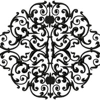 Lace Scroll design in different ways and sizes