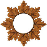 Leave Monogram Frame - Fall - Comes in 3 Sizes 9,6,and 5 inch