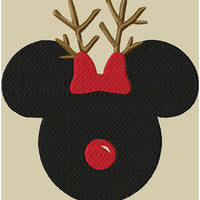 Mickey Reindeer - comes in 4 sizes