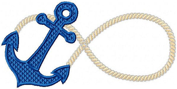 Inifinity Rope Anchor. Comes in 6 sizes