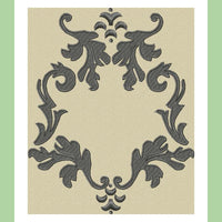 Flourish Monogram Frame