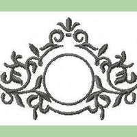 Circle Flourish Frame