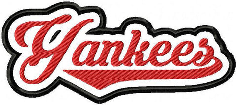 Yankees - comes in 4,7 and 10 inch sizes