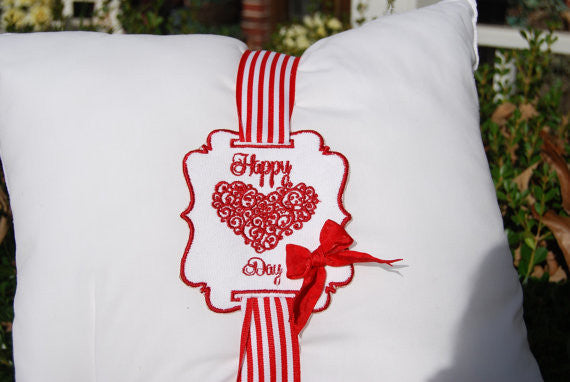 Happy Valentine's Day - Pillow Tag