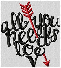 heart all you need is love