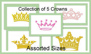 Assortment of 5 Crown Designs