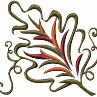 Autumn Leaf - 3 versions  Machine Embroidery Design