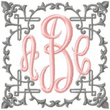 Ornate Frame - Machine Embroidery Design