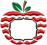 Teacher Apple Name Frame - Comes in 5 sizes