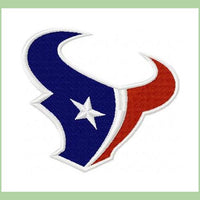 Houston Texans Machine Embroidery Design