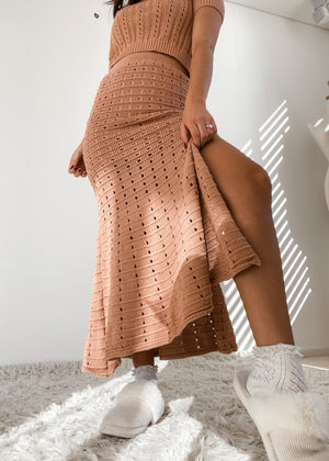 Hopeful Knit Skirt