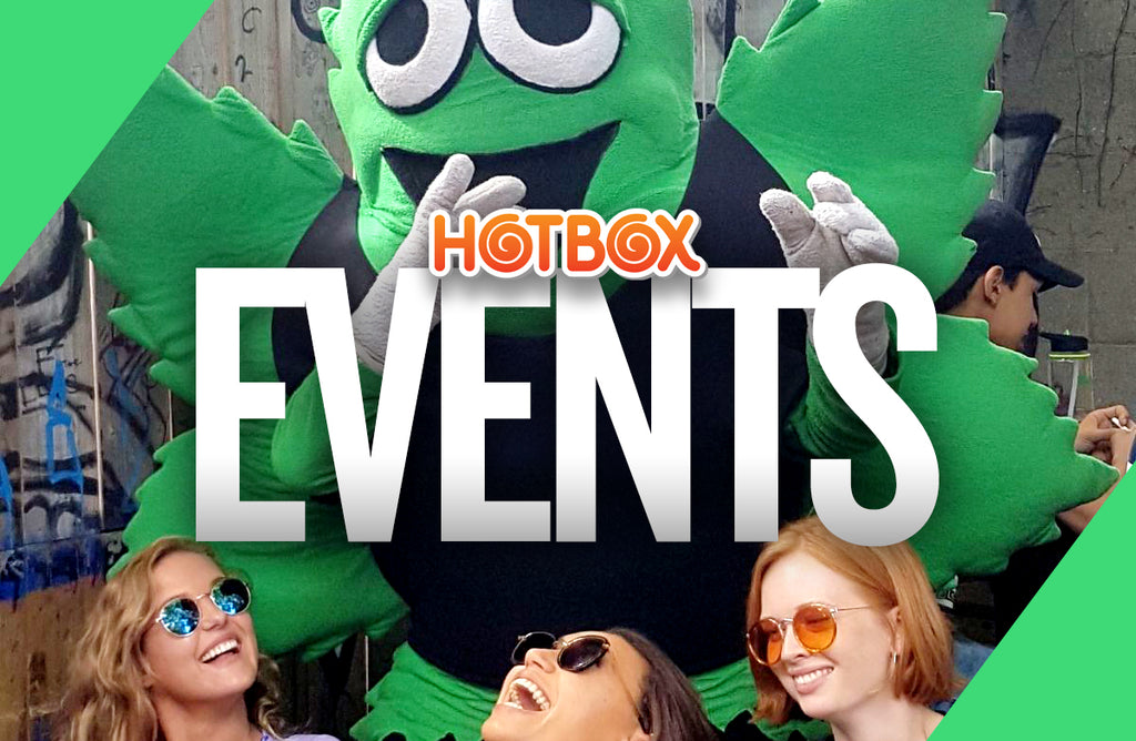 Weekly events at the Hotbox!