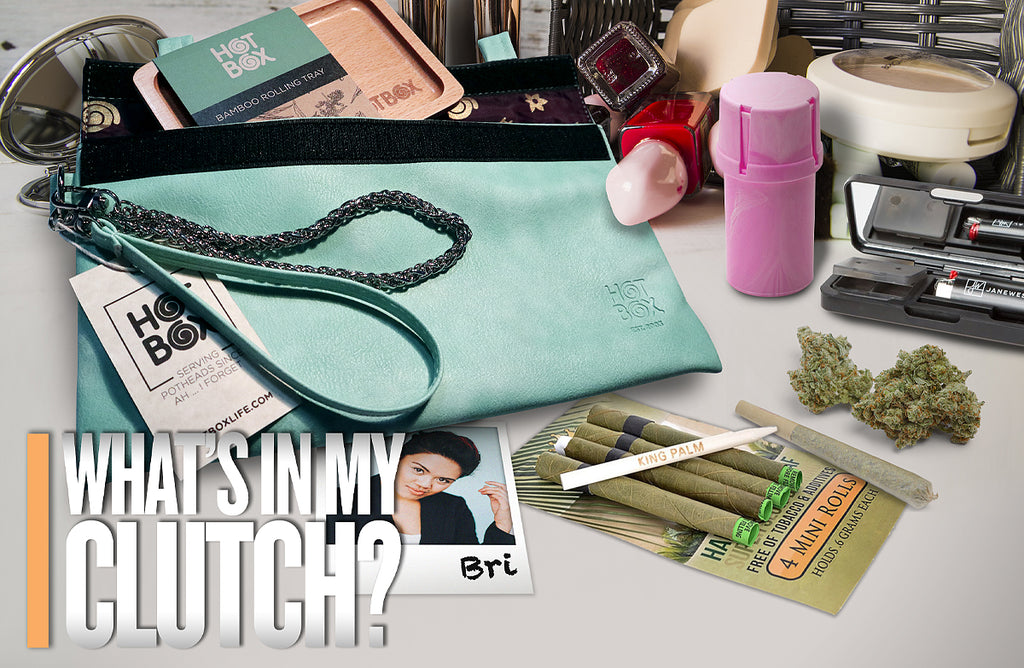 What's In My Clutch: Bri