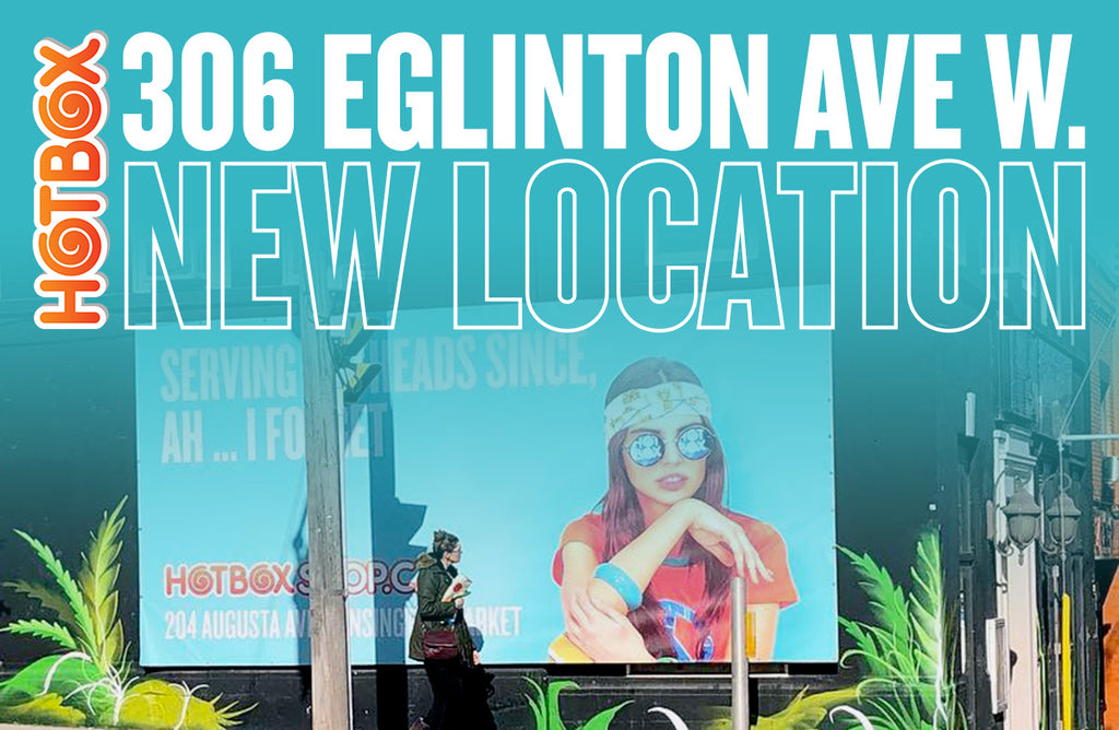 Our newest location: 306 Eglinton Ave West!