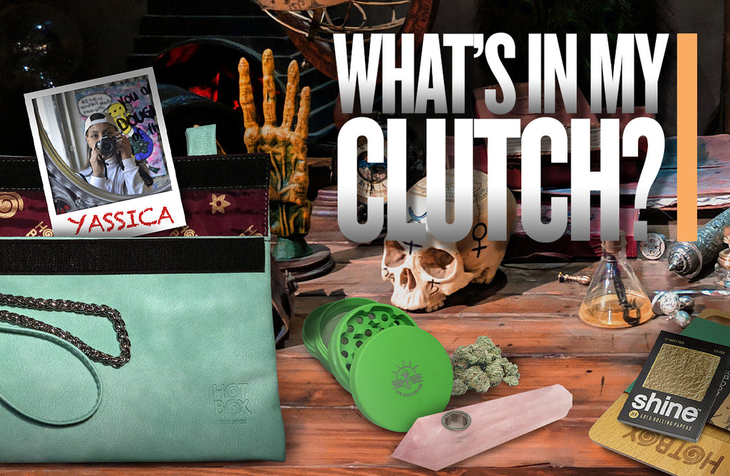 What's in my clutch: Yassica
