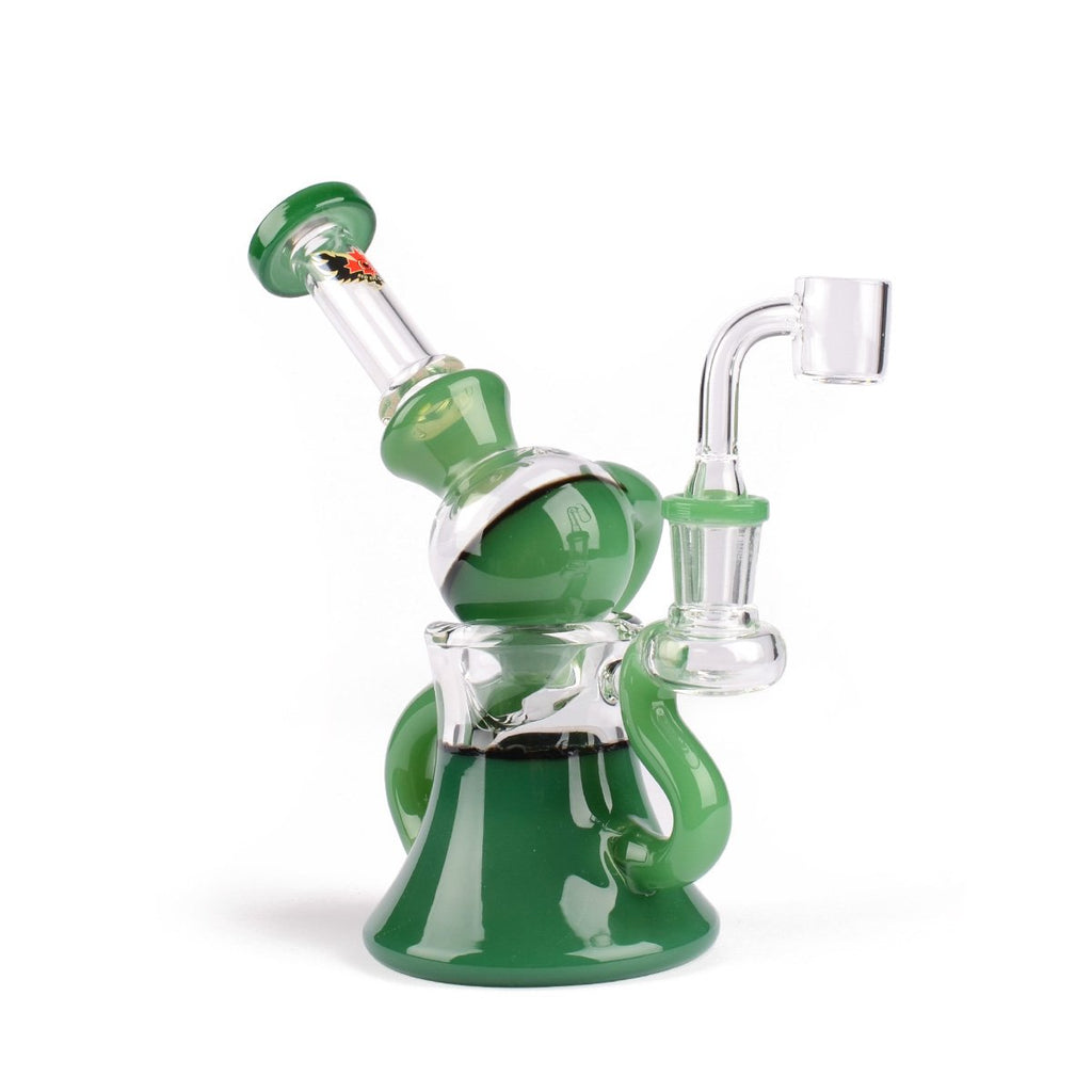 "Red Eye Glass 7"" Macrophonic Concentrate Recycler"