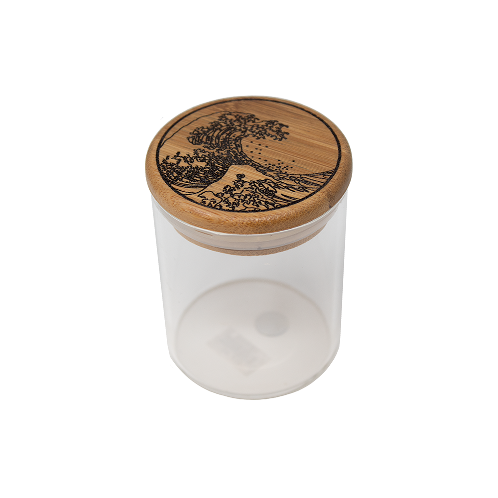 Tahoe Grinder Co. Glass Stash Jar