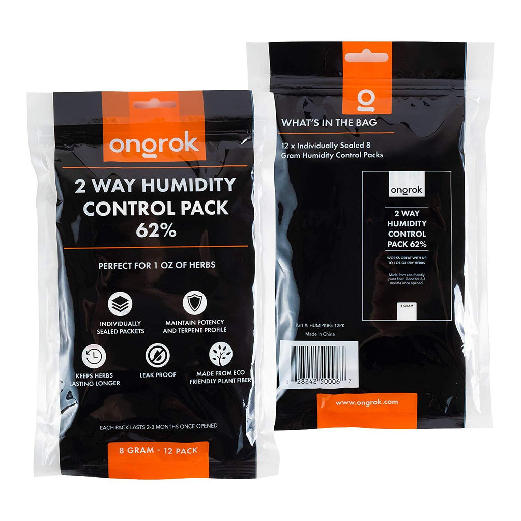 Ongrok 2 Way Humidity Control Pack 62% - 1 Ounce