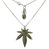KOKO & KAI Leaf Necklace