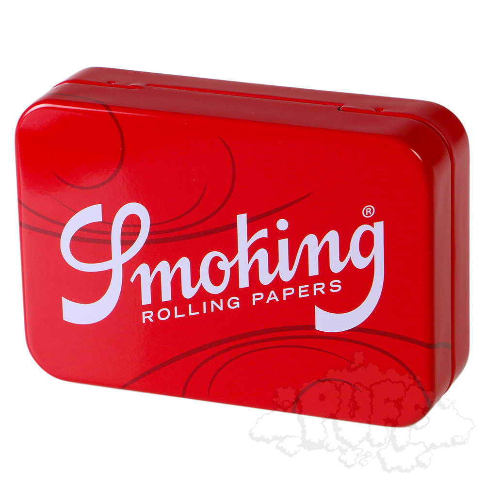 Smoking Red Tins