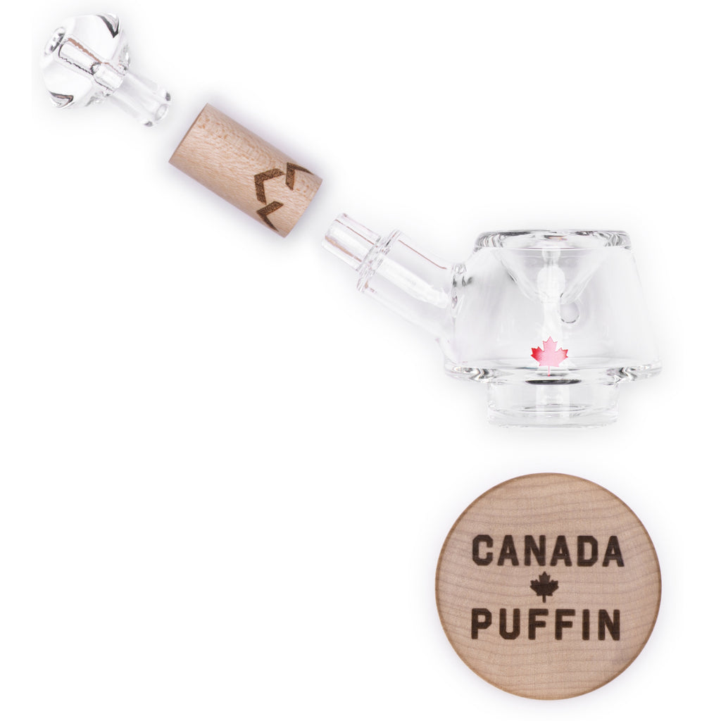 Canada Puffin Stone Spoon Pipe