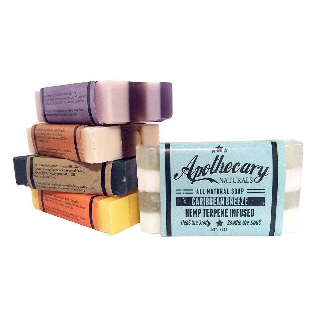 Apothecary Hemp Face & Body Soap