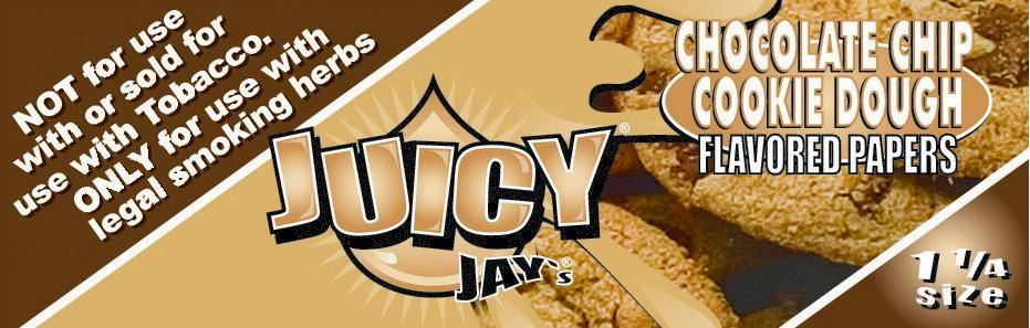 Chocolate Chip Juicy Jay's Papers 1 1/4