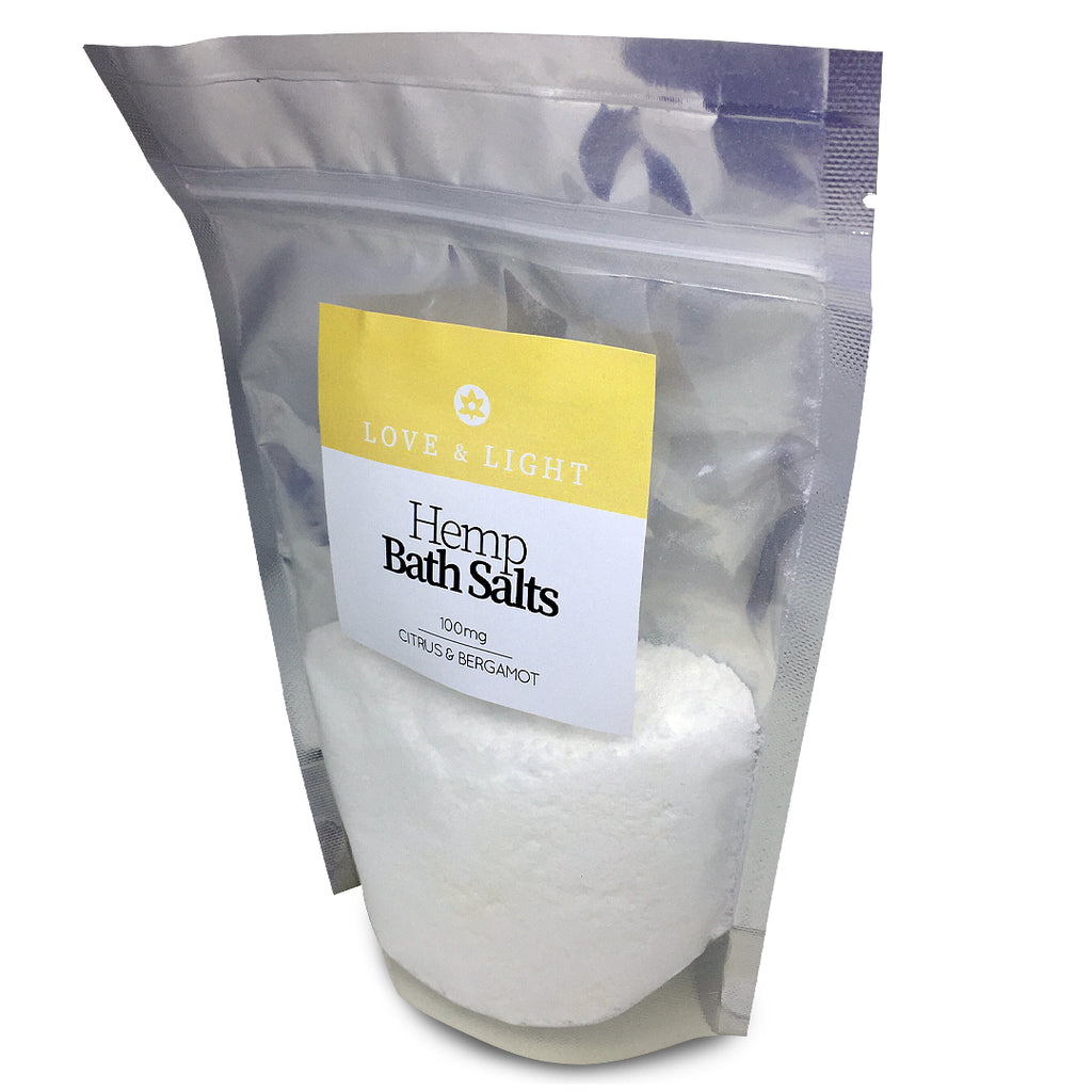 Love & Light Hemp-Infused Bath Salts