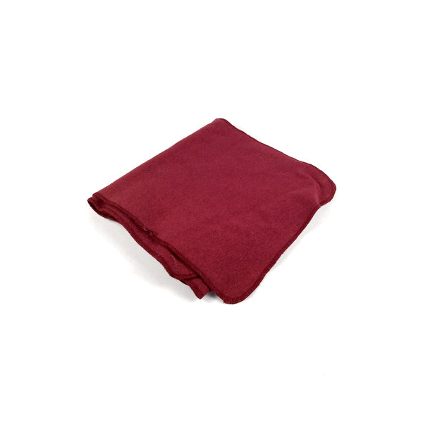 Ecolution Hemp Clothing Scarf Red