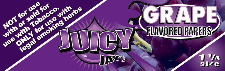 Grape Juicy Jay's Papers 1 1/4