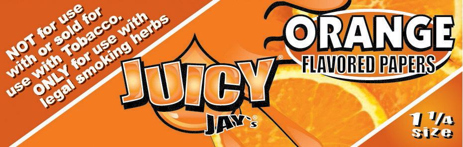 Orange Juicy Jay's Papers 1 1/4