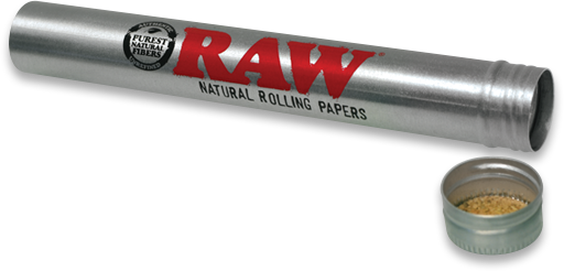 Raw Aluminum Doob Tube