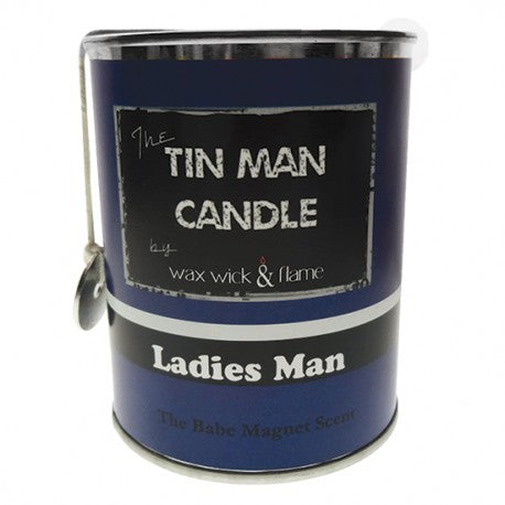 Wax Wick & Flame - Tin Man Candles - Ladies Man