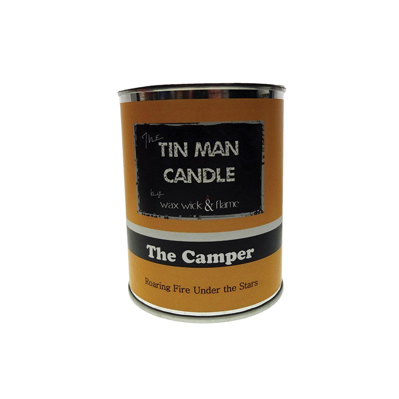 Wax Wick & Flame - Tin Man Candles - The Camper