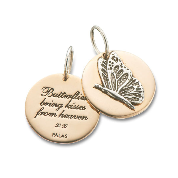 Butterflies Kisses Charm