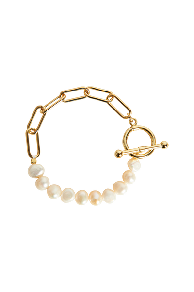 Tranquil Chain Bracelet Pearl