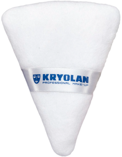 POWDER PUFF TRIANGULAR Kryolan - DragFace
