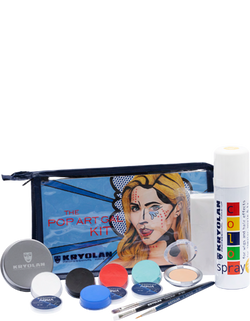 Kryolan THE POP ART GAL KIT