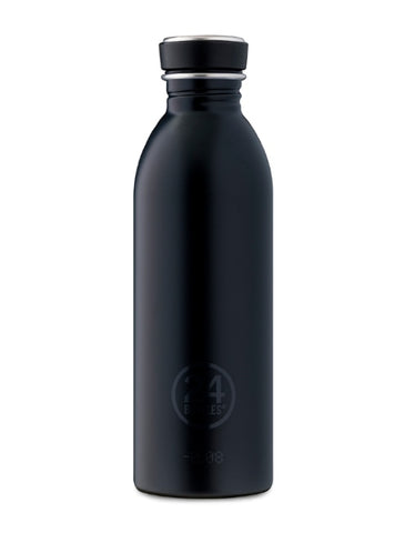 24 Bottles Urban Bottle - Tuxedo Black