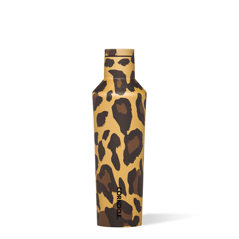 Corkcicle - Luxe Leopard Canteen 16oz